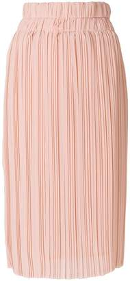 P.A.R.O.S.H. palazzo pleat skirt