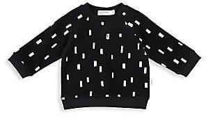 Miles Baby Baby's & Little Kid's Miles Basic Organic Cotton Stretch Sweatshirt
