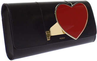 Perrin Paris Heart Glove Clutch Bag
