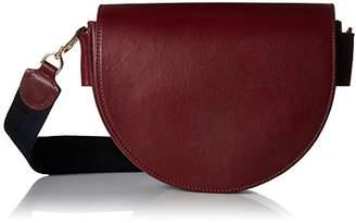Liebeskind Berlin Women's Dbag Vachetta Leather Saddle Bag with Guitar Strap
