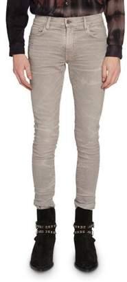 Amiri Men's Skinny Whiskered Stretch-Denim Jeans