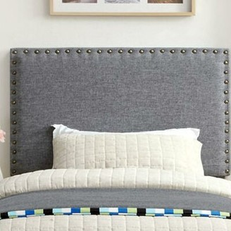 Darby Home Co Fabio Upholstered Panel Headboard Darby Home Co