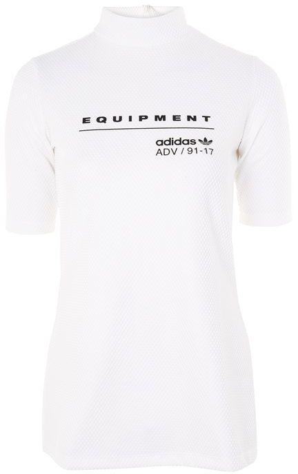 adidasAdidas originals Equipment logo mesh t-shirt