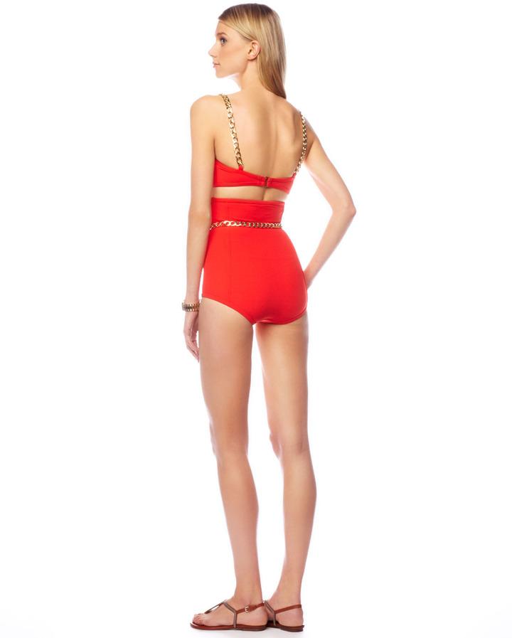 Michael Kors High-Waist Bikini