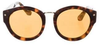 Elizabeth and James Bennett Round Sunglasses