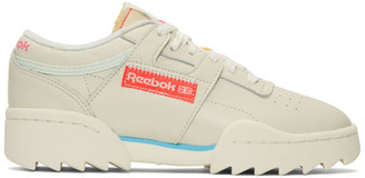 Off-White Reebok Classics Workout Ripple OG Sneakers