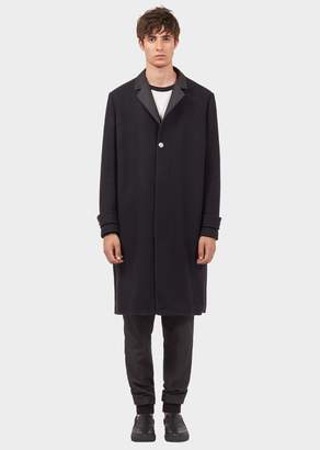 Versace Single-Breasted Coat