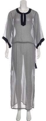 Tory Burch Silk Chiffon Maxi Dress