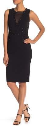 Rachel Roy Zane Grommet Dress