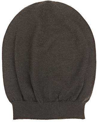 Rick Owens Men's Cashmere Beanie - Dark Gray