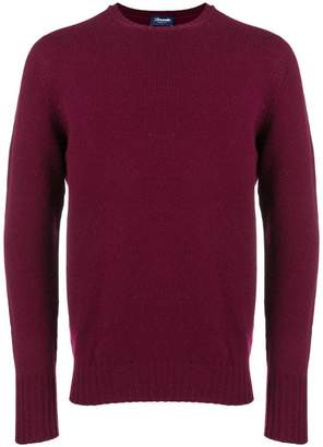 Drumohr long-sleeve fitted sweater