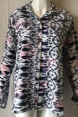 Amanda Uprichard Printed Placket Tunic
