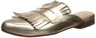 Kaanas Women's Lucca Fringe Loafer Mule Slide Shoe Flat