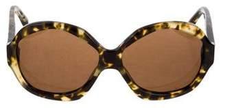 House Of Harlow Tortoiseshell Oversize Sunglasses