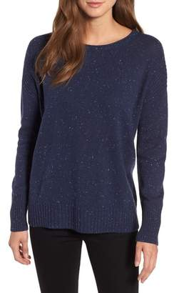Caslon Back Zip Pullover