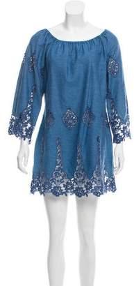 Miguelina Off-The-Shoulder Mini Dress