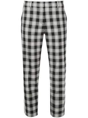 Robert Rodriguez Sophia plaid slim trousers
