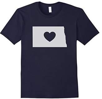 "Dakota North Home State ""Love Heart"" T-Shirt"