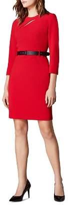 Karen Millen KARNEN MILLEN Cutout Belted Sheath Dress