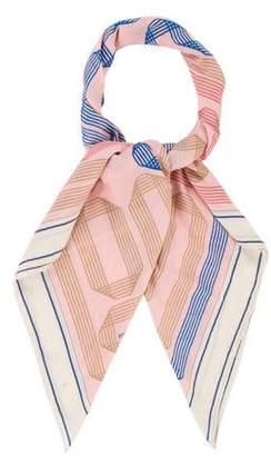 Hermes Ruban Cashmere Silk Shawl