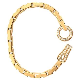 Cartier Agrafe yellow gold bracelet