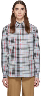 Burberry Blue Vintage Check Shirt