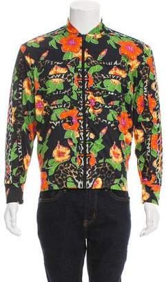 Jeremy Scott x Adidas Floral Bone Track Jacket