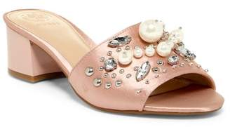 GUESS Dancerr Embellished Mule $89 thestylecure.com