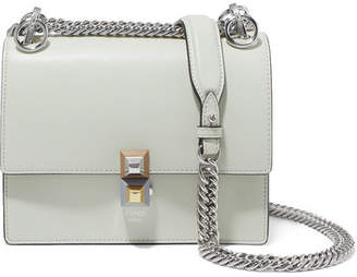 5d888144e5 Fendi Kan I Leather Shoulder Bag - Light green