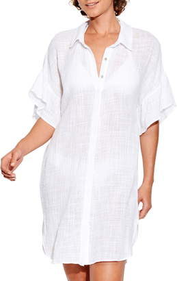 Seafolly Beach Cover-Up Shirt