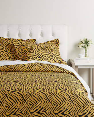 Home City Brushed Animal Print Duvet Cover Set
