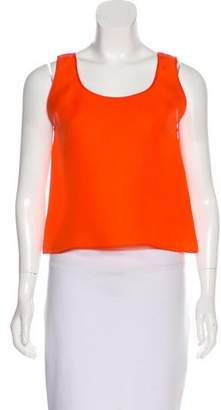 Roksanda Silk Sleeveless Top