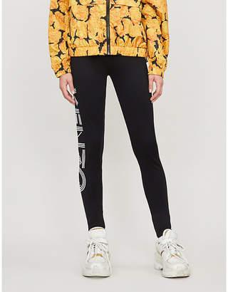Kenzo Stretch-cotton sport leggings