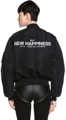 New Happiness Reversible Bomber Jacket $539 thestylecure.com
