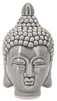 Bloomsbury Market Tameka Ceramic Buddha Head Statue