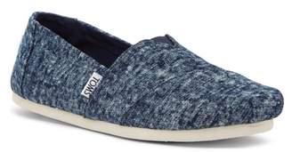 Toms Washed Denim Slip-On Shoe
