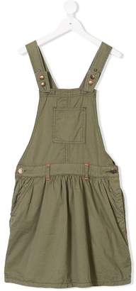 American Outfitters Kids TEEN contrast-stitch pinafore dress