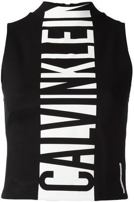 Calvin Klein Jeans logo print tank top $57.66 thestylecure.com