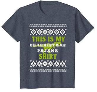 This Is My Christmas Pajama Shirt Ugly With Dinosaur Funny