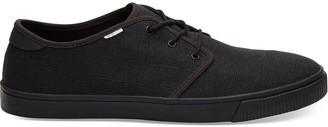 Black on Black Heritage Canvas Men's Carlo Sneaker