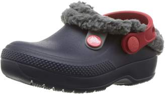 Crocs Kid's Classic Blitzen III Clogs, Navy/Slate Grey