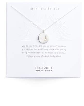 Dogeared One in a Billion Pendant Necklace