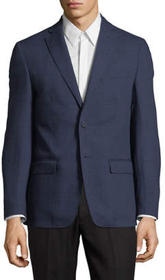DKNY Micro Check Wool Sportcoat