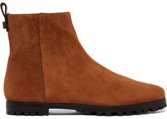 Stuart Weitzman Riley Suede Ankle Boots