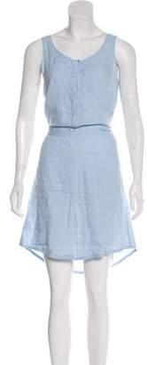 Hartford Linen Knee-Length Dress