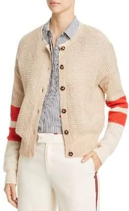 Scotch & Soda Stripe Sleeve Cardigan