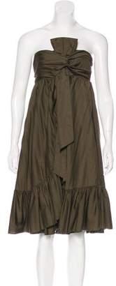 Diane von Furstenberg Tolera Strapless Dress