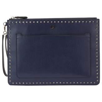 Diane von Furstenberg Leather Clutch Purse