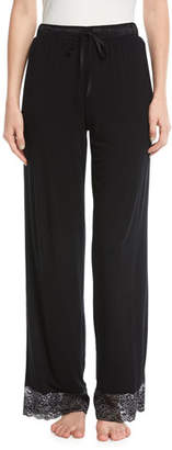 Fleurt Fleur't Winter Escape Lace-Trim Lounge Pants