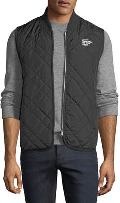 """G Star G-Star Men's Blake """"Uniform of the Free"""" Quilted Vest"""